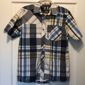 Under Armour Short Sleeve Button Up